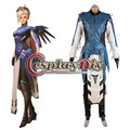 OW Cobalt Mercy Cosplay Costume Suit Adult Women's Halloween Game Costume Cosplay