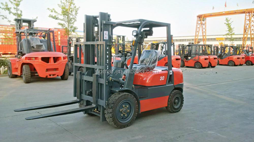 2t diesel forklift CPCD20 Cheap Price China Small forklift for sale