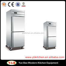 commercial refrigerator freezer supermarket Used Vertical electric Refrigerator For Sale