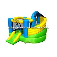 inflatable buncer with slide on sale .cheap inflatable combo for kids.commercial bouncy castle