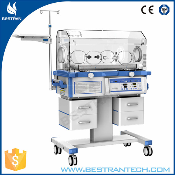 China BT-CR02S Hospital Isolette Baby Infant Incubator, baby incubator with phototherapy lamp