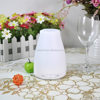 130ML best selling classic ultrasonic humidifier,essenial oil ultrasonic aroma diffuser with 7led colors (JSQ008)