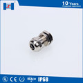 Free sample brass cable gland closed with nickel plated, brass circular cable glands