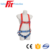 Comfortable full body harness for aerial work