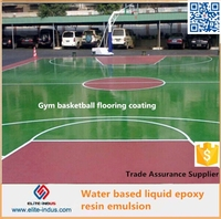 Water based Liquid Epoxy resin Emulsion epoxy primer paint for steel