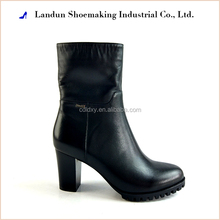 Landun fashion ankle woman waterproof surgical boot