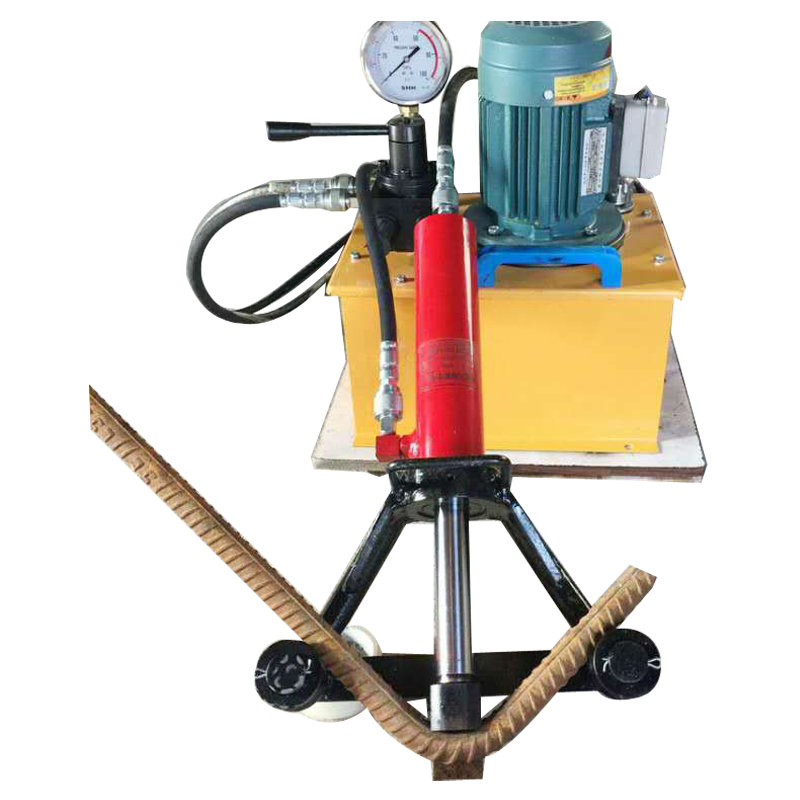 Best quality hydraulic rebar bender machine / portable steel bar bending machine