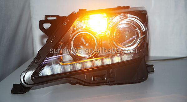 LED Head Lamps with Projector Lens 2012-2014 Year for Lexus LX570