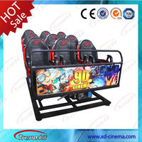 CE Certificate 5d simulator cinema shopping arcade game machine cinema 5d 7d 9d 12d