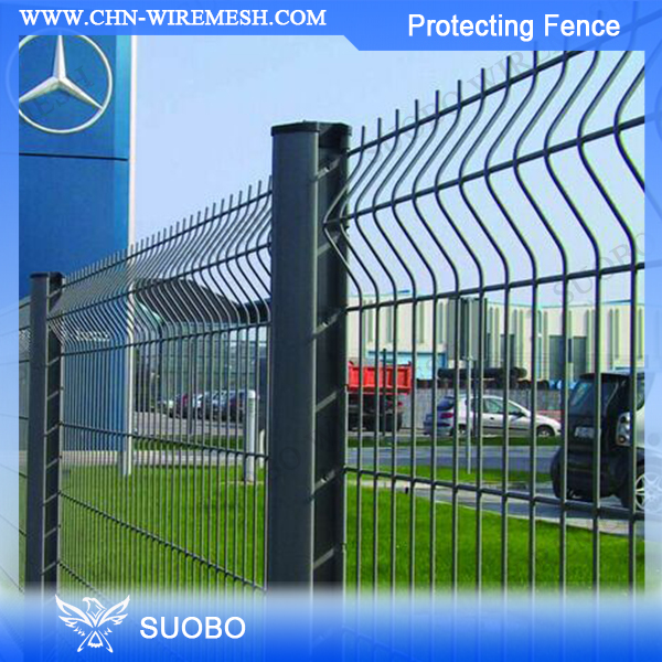 SUOBO Ornamental double loop wire fence Artificial ivy garden fence