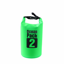 2L 3L 5L waterproof sacks beach bag camping dry bag for outdoor sports