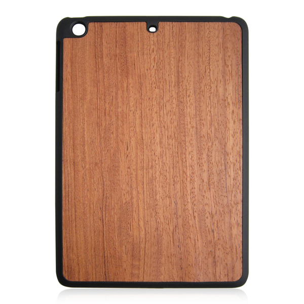Hot sell wood case,matte PC hard protective case for iPad air