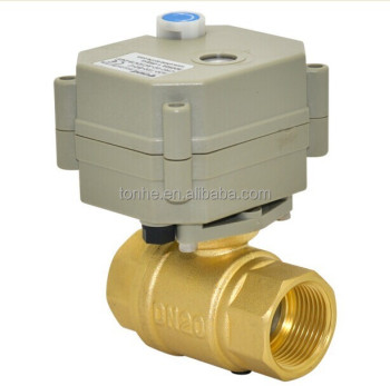 3/4'' Motorized Ball Valve for Automatic Watering (T20-B2-B)
