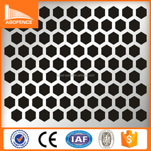 China supplier high qulity 0.1mm Small Hole Aluminum Perforated Metal Mesh/Perforated Metal Screen Wall