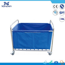 YXZ-016B CE ISO Stainless Steel Dressing Trolley Commercial Linen Cart