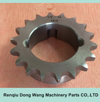 083B 12.7*4.88mm 1/2'*3/16' Simplex Chain Sprockets for Roller Chains DIN8187-ISO/R 606