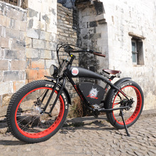"LOHAS VEHICLE 45km/h very fashioable 26""x4.0 fat tire EN15194 approved electric bike made in china used to beach/snowy/mountain"