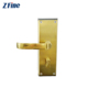 intelligent encoder single latch hotel lock system nfc key fob card room lock rfid smart door lock