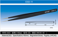 High quality and cheap esd plastic tweezers tweezers for mobile repair tools