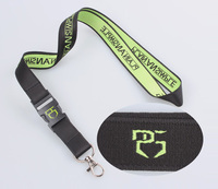 Custom high quality woven lanyard wholesale of China merchandise