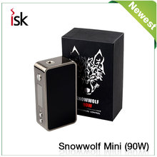 Great design snow wolf mini 90w newest design 90w snow wolf mini e-cigs mod box snow wolf 200w