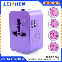 2016 digital corporate gift universal travel adapter corporate promotional gift items