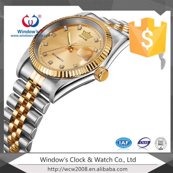 Japan movement high quality stainless steel men's watch