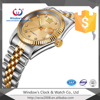 Japan movement stainless steel men's watch rolexable