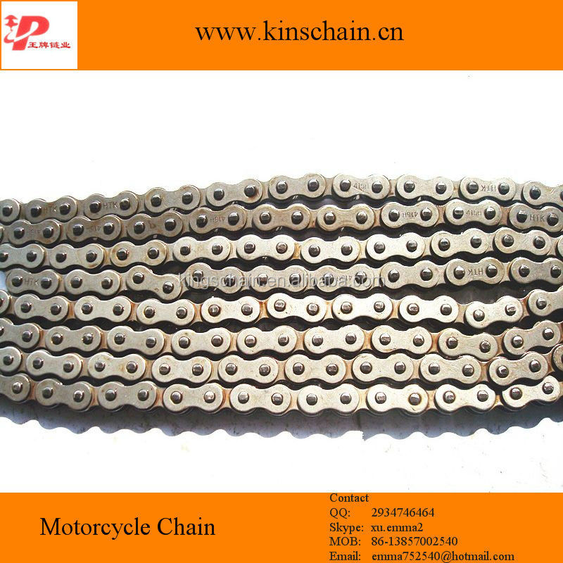 motorcycle spare part roller chain 415H chain
