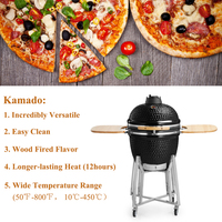 Energy Save Outdoor 21 Inches Wood Burn Smoker Stove
