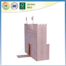 Cheap birthday gift and most new style wooden castle