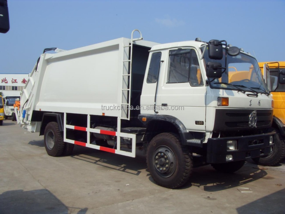 Dongfeng Chaisis 8-12L Garbage Can Cleaning Truck