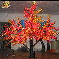 Artifical led maple tree decorative indoor light up tree