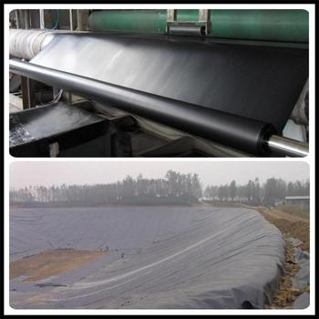 New product China 30Mil-60 Mil HDPE PLASTIC GEOMEMBRANE