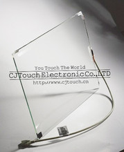19 inch Surface Acoustic Wave saw frameless touch screen 4mm thickness with USB/Rs232 Controller supplier