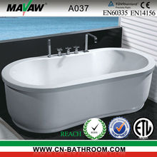bubble massage bathtub with air system for jets A037