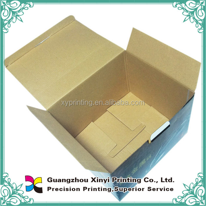 Custom corrugated beer boxes cardboard