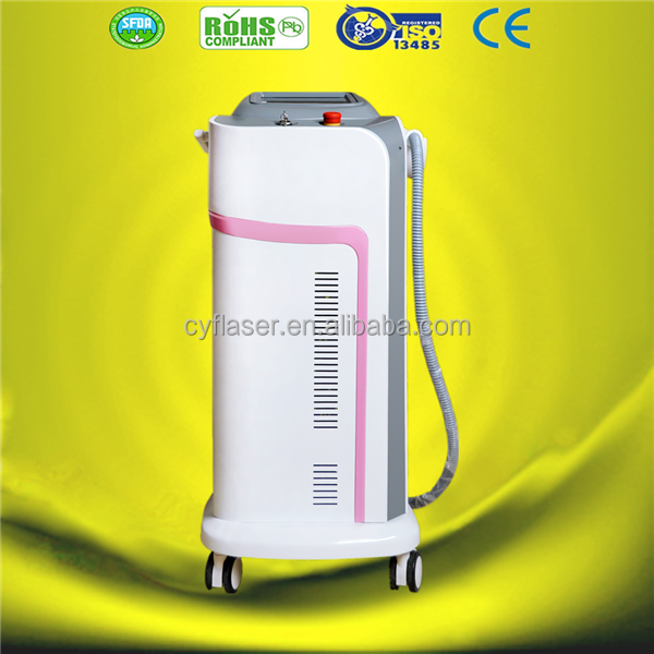 Fast and efficient CE 2016 depilation diode laser hair removal 808nm machine/permanent diode laser hair removal 808nm