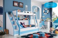Hot sale wood American country style baby bed prices for boy and girl