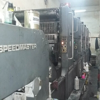 Second hand used Heidelberg offset printing machine
