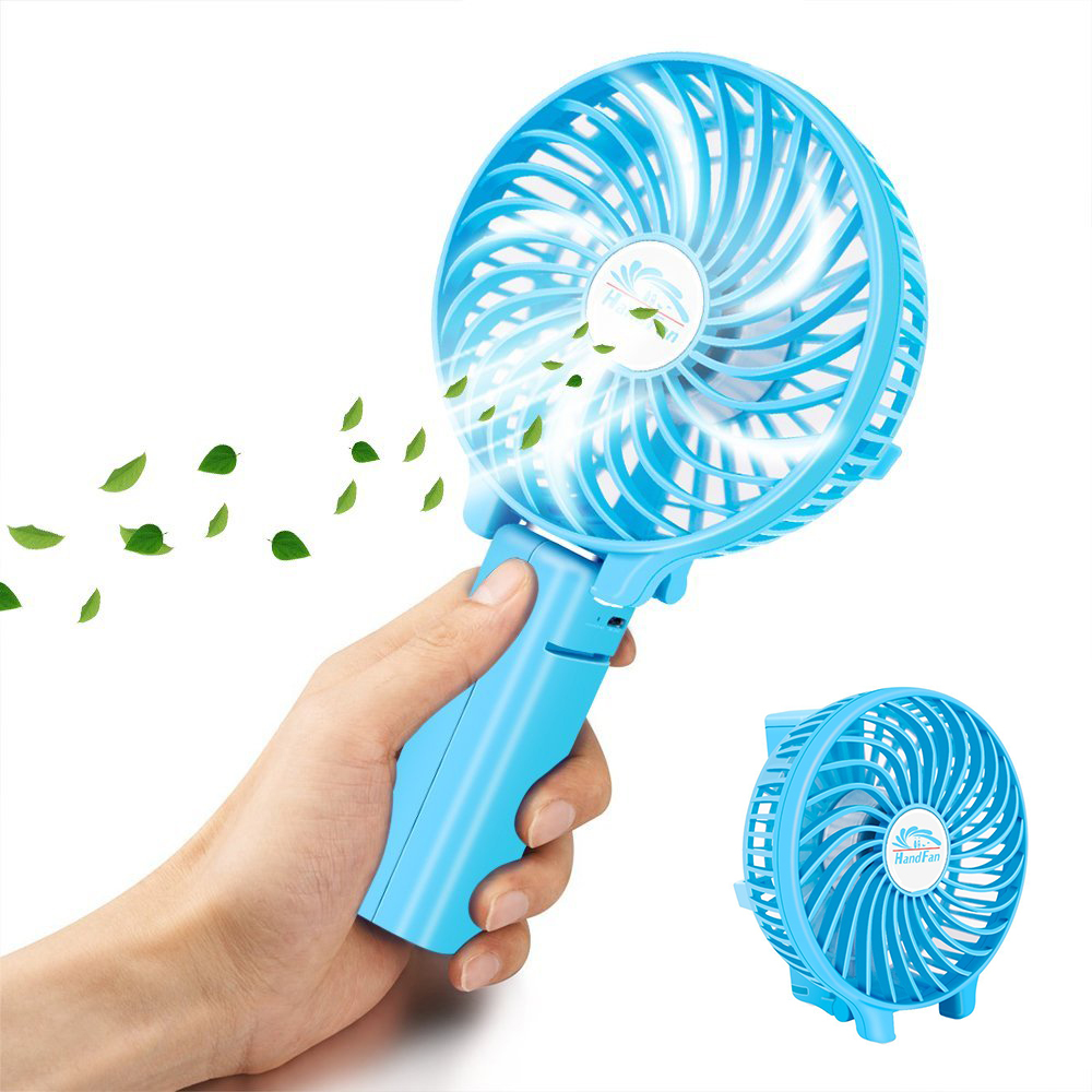 Portable Rechargeable Personal Foldable Clip On Electric Cooling Battery Operated Handheld Fan <strong>Mini</strong>