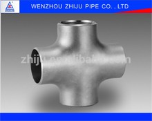 Sanitary Fittings Price DN700 Butt-Welding Equal Crosses Pipe Fitting