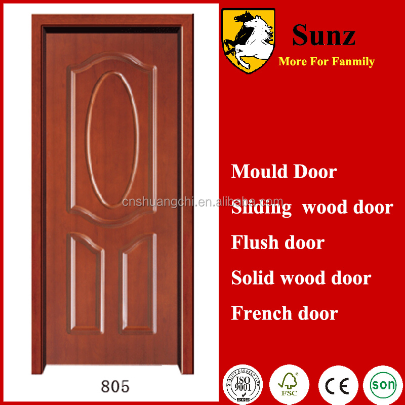 High Quality Solid Wood Veneer Door Skin