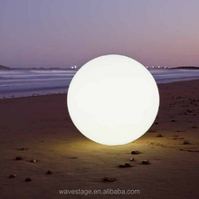 rgb led ball waterproof floating led glow swimming pool ball