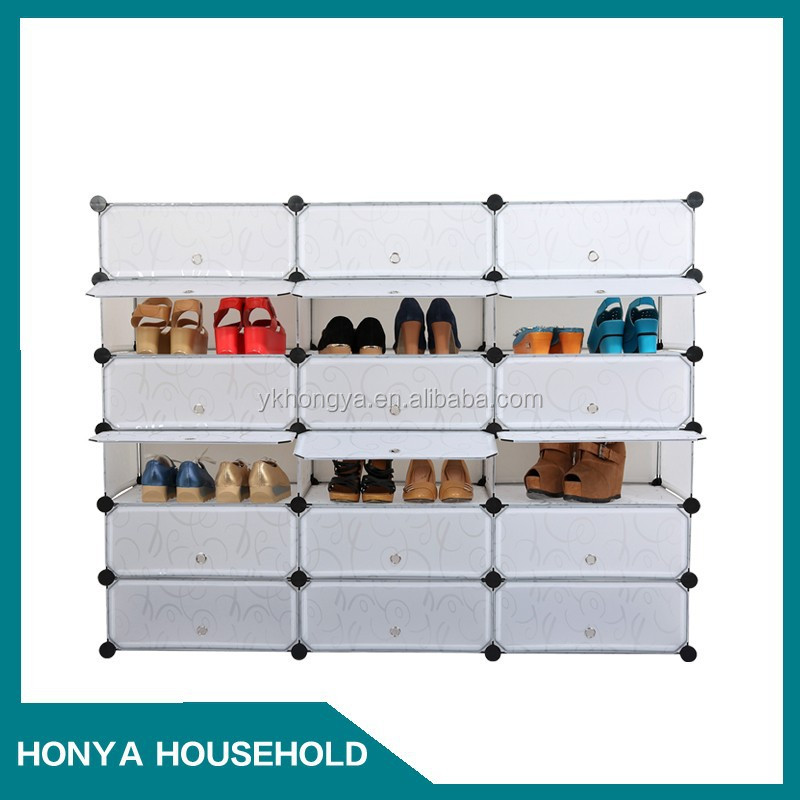 wall mounted shoe storage
