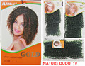 Rebecca noble gold original brand NATURE DUDU 2pcs premium quality synthetic curly hair weave