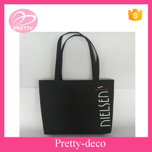 Factory directly felt cheap logo shopping tote bag for sale