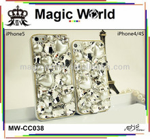 diamond bling case for blackberry bold 9700
