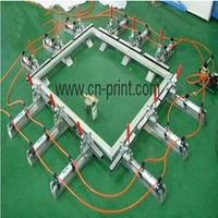 2015 Cheap Silk screen stretching machine for making frame mesh tighten