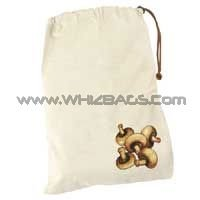 Canvas Cloth Cotton Fabric Woven Vegetable Meat Bags or Sacks
